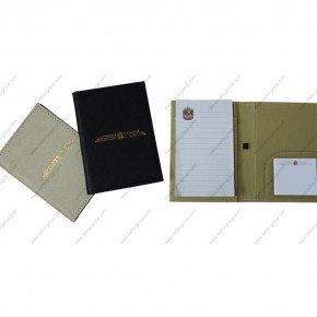 PU Leather Pocket-size Notepad