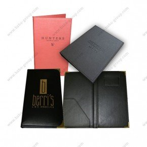 PU Leather Bill Folder