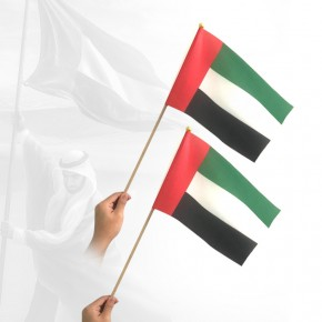 National Day hand Flag