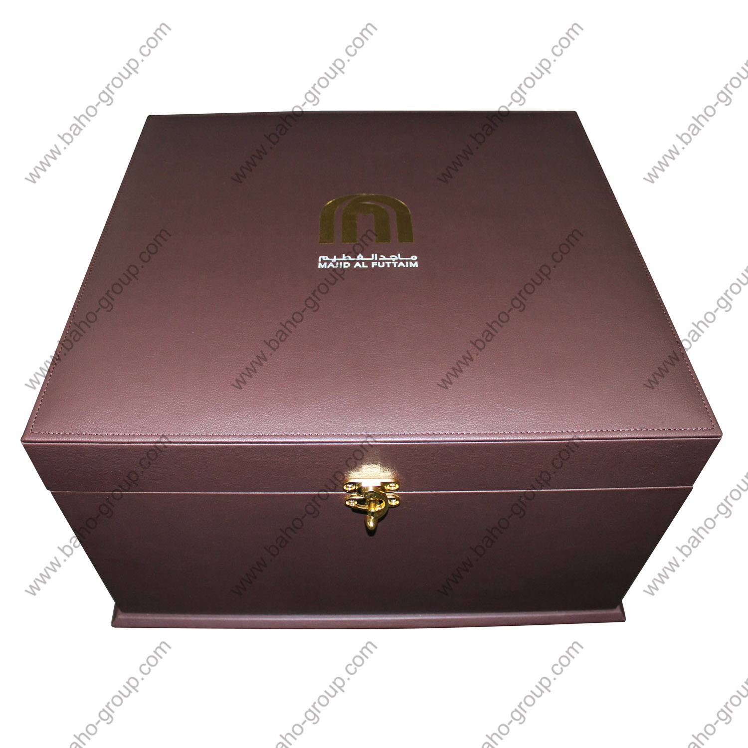MAJID AL FUTTAIM VIP PU LEATHER GIFT BOX