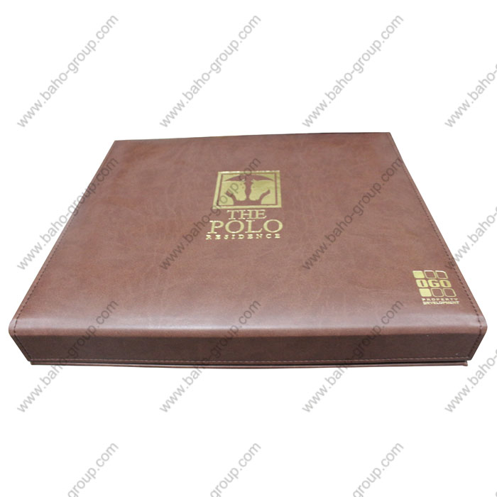DIARY PU LEATHER GIFT BOX FOR IGO