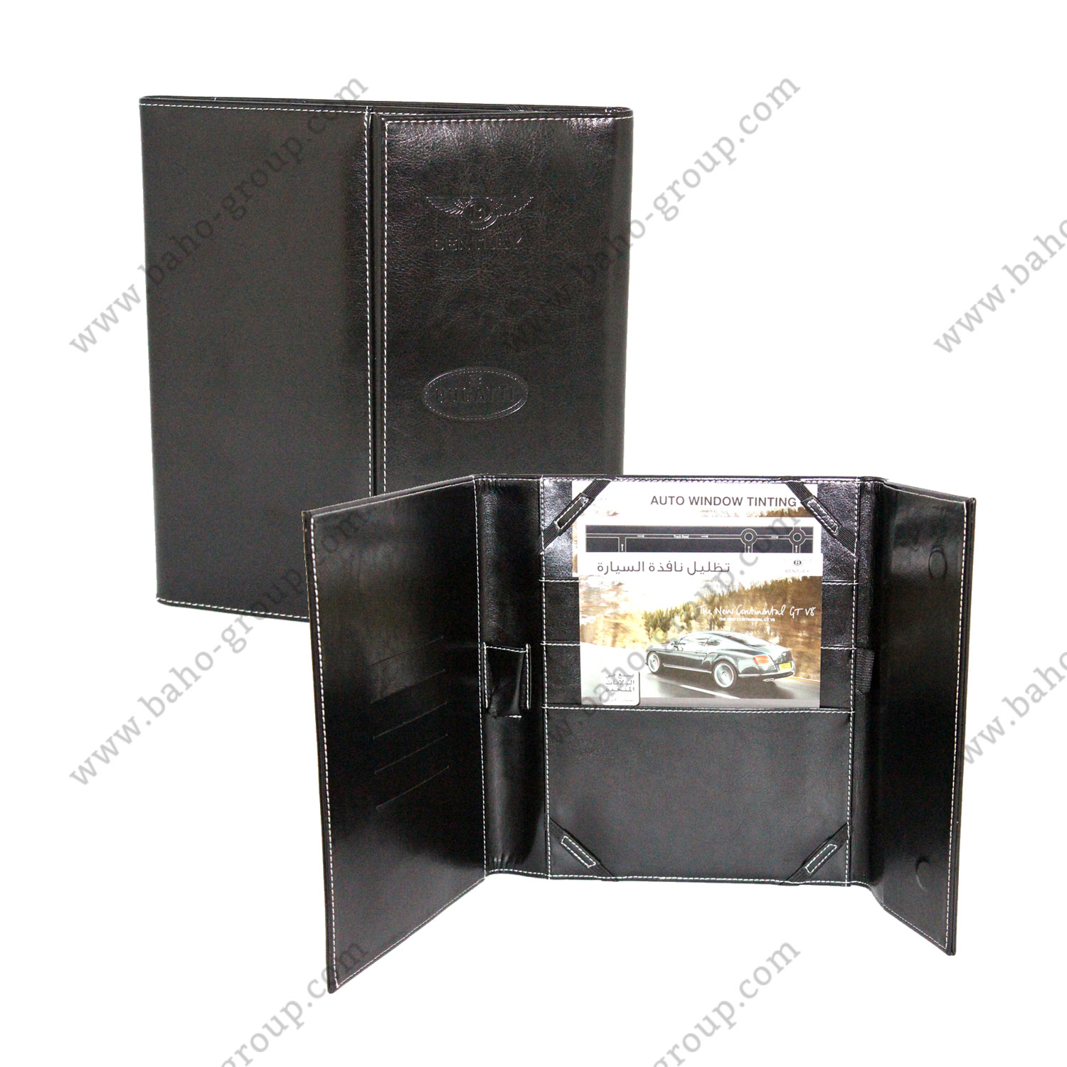 Bentley iPad Organizer Folder