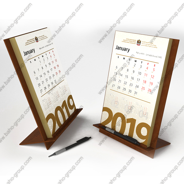 Customized Calendar Stand