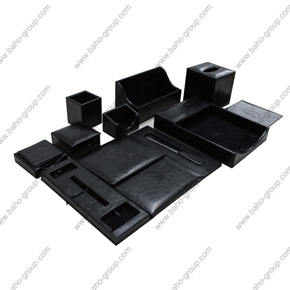 Black Desktop Set