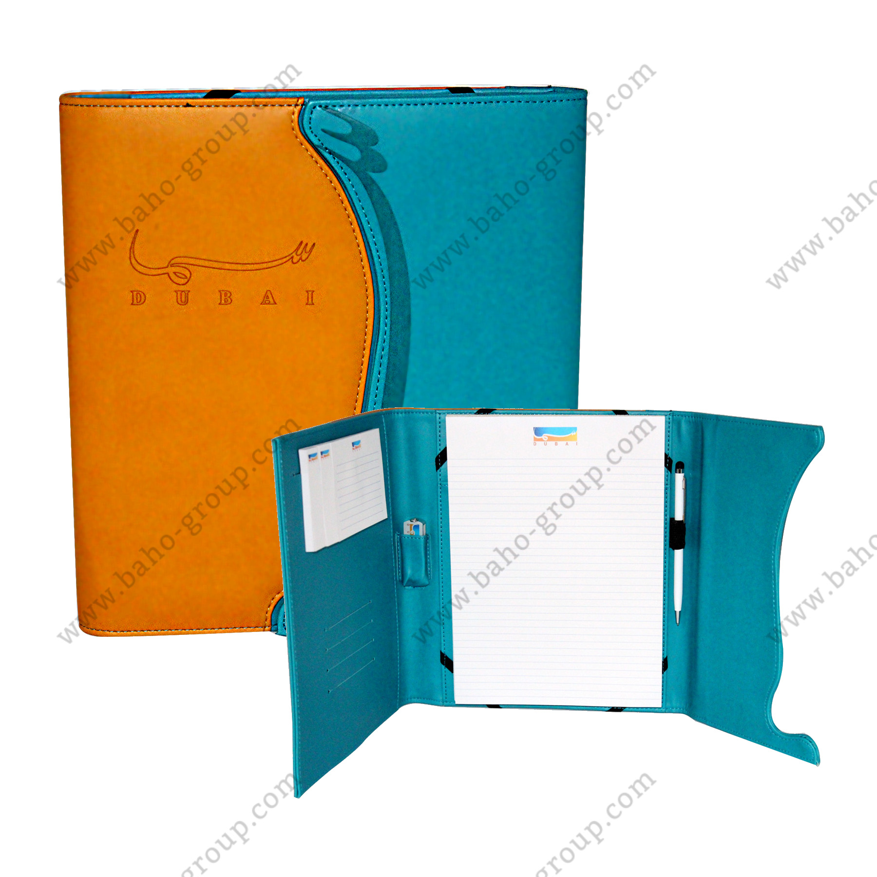 Dubai Media Inc. Special shaped opening iPad Holder organizer